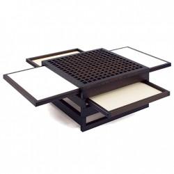 Table TETRA  Iroko wengé