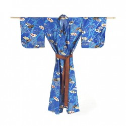 Yukata femme FANGA bleu