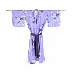 Yukata femme HANATABA violet