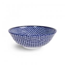 Bol à ramen SHIBORI bleu