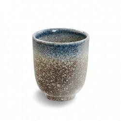 Tasse thé TAJIMI bleu-brun