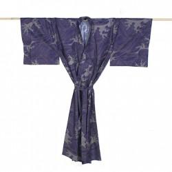 Yukata homme HOKUSAI bleu