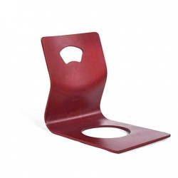 Chaise ZAISU teinté rouge