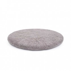 SHAKATI coussin rond pierre