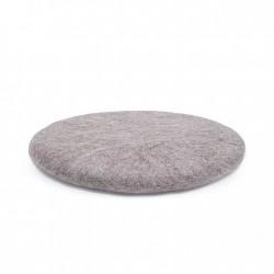 CHAKATI coussin rond pierre