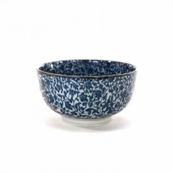 Bol japonais KARAKUSA MM en porcelaine