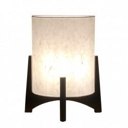 Lampe japonaise abat jours ovale