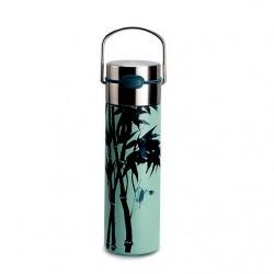 Thermos LEEZA avec infuseur motif Bamboo