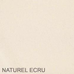 Housse de futon  coloris ECRU naturel