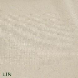 Housse de futon en coton coloris LIN
