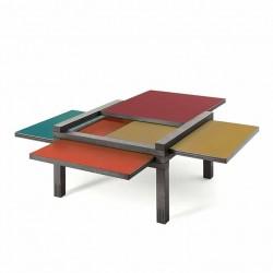 Table PAR 4 chêne anthracite COLOR