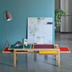 Table HEXA iroko, hêtre ou...