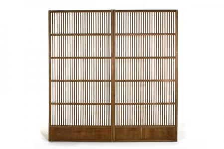 Paire portes japonaises