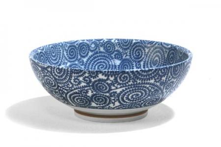 Saladier-coupe TAKO bleu